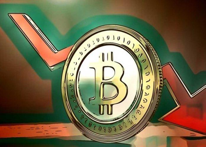 Bitcoin cae por debajo de USD 7,900 junto a las principales criptomonedas