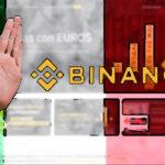 Lanzan nueva advertencia contra Binance en Italia